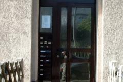 Einbau einer Aluminium-Haustür