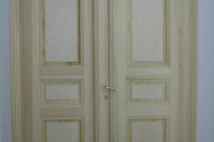 Neubau einer Tür mit Kasetten-Elementen