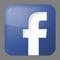 Facebook Logo in Blau